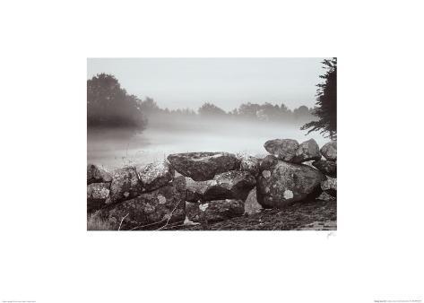 Morning Stone Wall Art Print