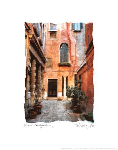 Venice Courtyard Art Print