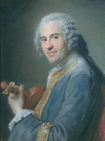 Jean-Joseph Cassanea De Mondonville, 1747 Lámina giclée
