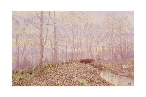 The Refuge Old Mill, 2001 Giclee Print