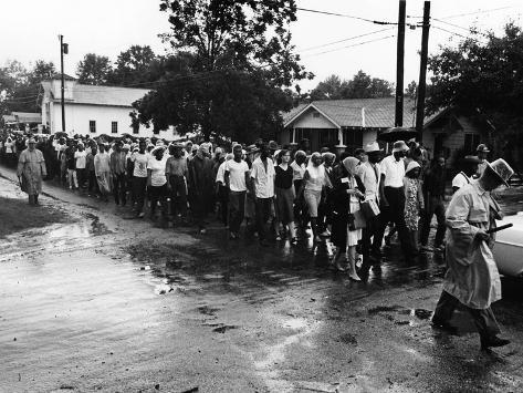 Bogalusa Protest - 1965 Valokuvavedos
