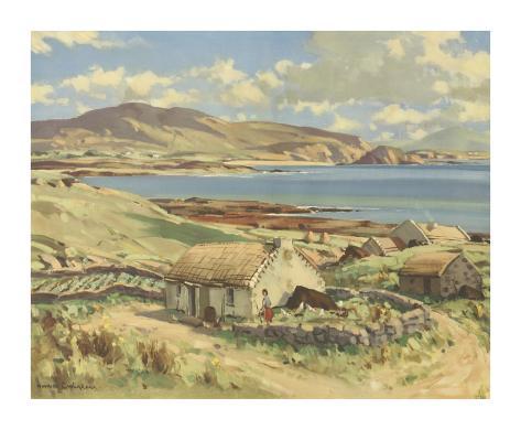 Donegal Bay Premium Giclee Print
