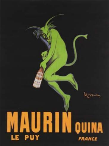 Maurin Quina Tin Sign