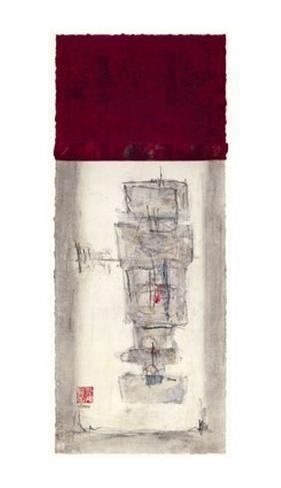 Mauro Tranquility Panel III Giclee Print