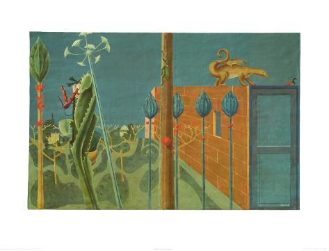 Natural History, c.1923 Art Print