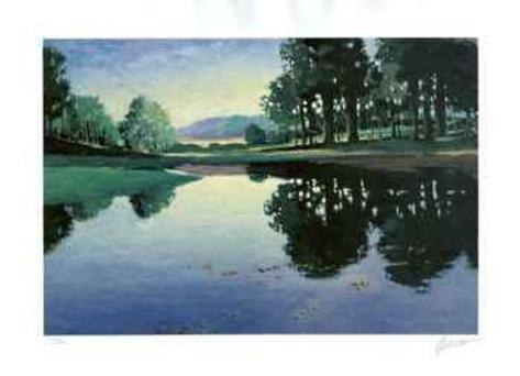 Meadows and Ponds II Collectable Print