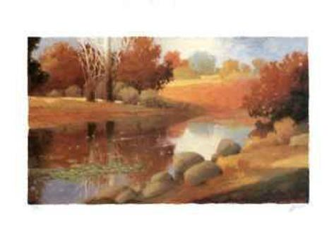 Rivers at Sunrise I Collectable Print