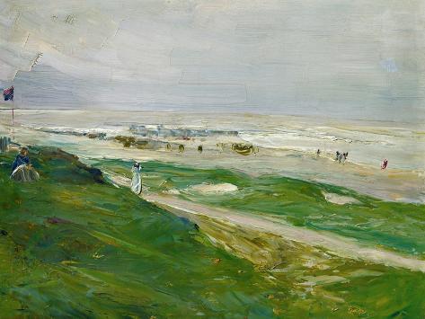Dune in Noordwijk, Netherland, 1908 Giclee Print