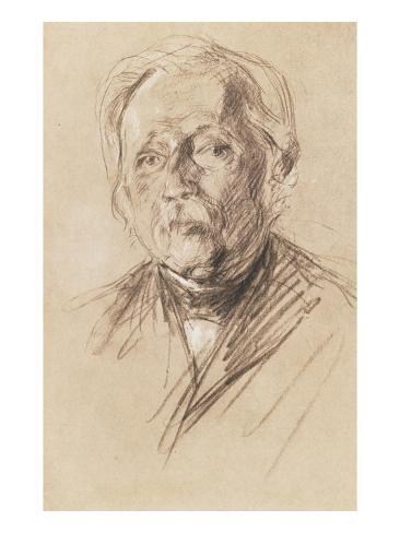 Theodor Fontane, 1896 Giclee Print
