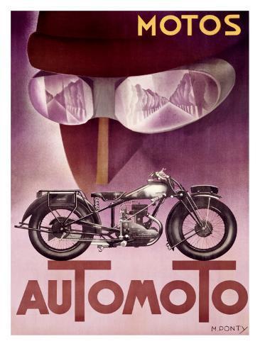 Automoto Giclee Print
