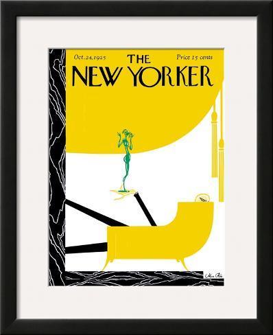 The New Yorker Cover - October 24, 1925 Framed Giclee Print
