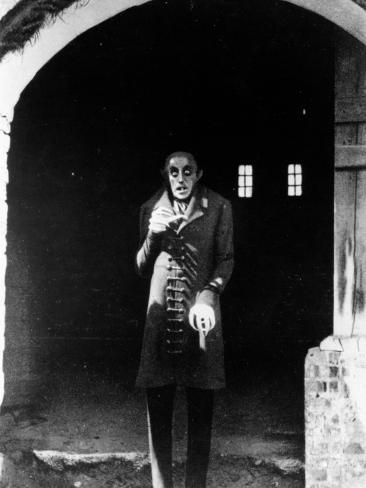 Max Schreck: Nosferatu, Eine Symphonie Des Grauens, 1922 Fotoprint