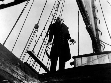 Max Schreck: Nosferatu, Eine Symphonie Des Grauens, 1922 Photographic Print