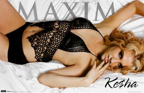 Maxim - Kesha Poster