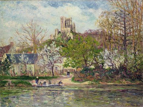 Springtime at Lavardin (Touraine), 1907 Giclee Print