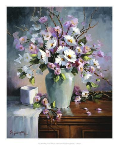 Apple and Cherry Blossoms Giclee Print