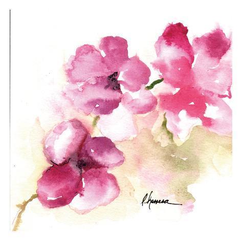 Guia Flores Moradas 82509 Art Print