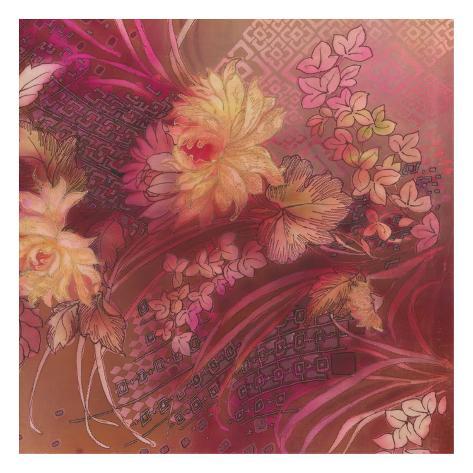 Marooned Florals 3 Art Print