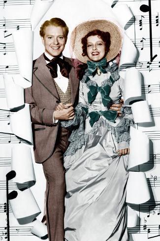 MAYTIME, from left: Nelson Eddy, Jeanette MacDonald, 1937 Foto