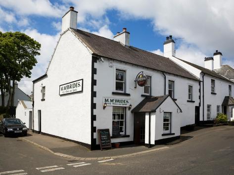 Mcbrides Pub, Cushendun, County Antrim, Ireland Photographic Print