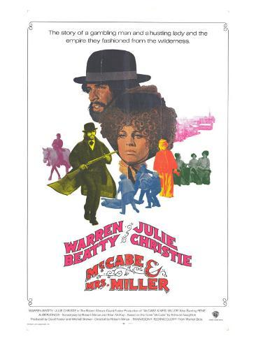 McCabe and Mrs. Miller, 1971 Stretched Canvas Print