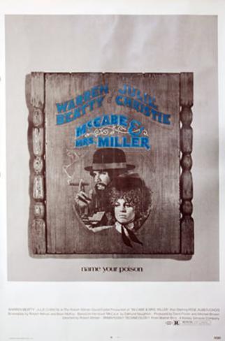 Mccabe & Mrs. Miller Original Poster