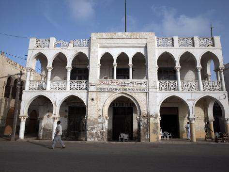 Ottoman Architecture Visible in the Coastal Town of Massawa, Eritrea, Africa Photographic Print