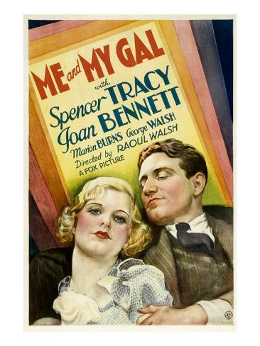 Me and My Gal, Joan Bennett, Spencer Tracy, 1932 Photo