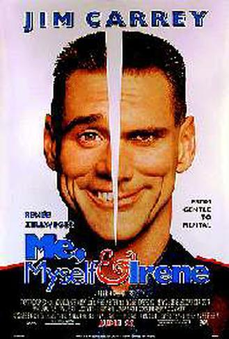 Me, Myself And Irene Original Poster