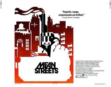 Mean Streets -  Style Poster