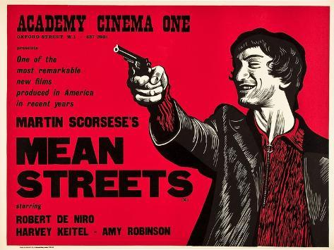 Mean Streets Art Print