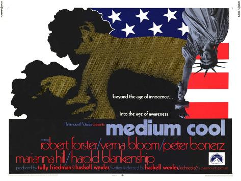Medium Cool, 1969 Art Print