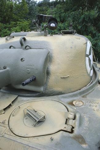 Medium Tank M4 Sherman, 1943 Stretched Canvas Print