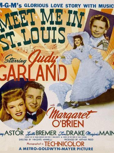Meet Me in St. Louis, 1944 Art Print
