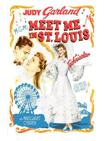 Meet Me in St. Louis, 1944 Stampa artistica