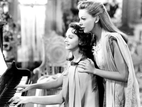 Meet Me in St. Louis, Lucille Bremer, Judy Garland, 1944 写真