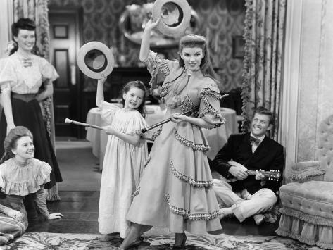 Meet Me In St. Louis, Margaret O'Brien, Judy Garland, 1944 Fotografia