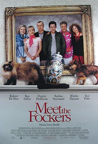 Meet The Fockers Double-sided poster