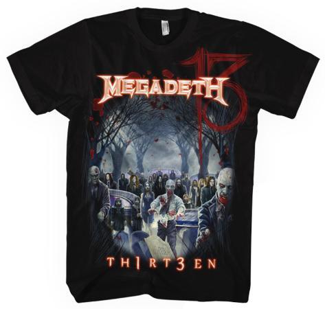 Megadeth - Zombie Group 13 T-Shirt