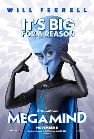 Megamind Original Poster