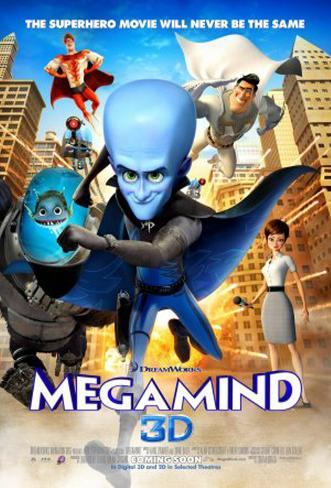 Megamind Double-sided poster