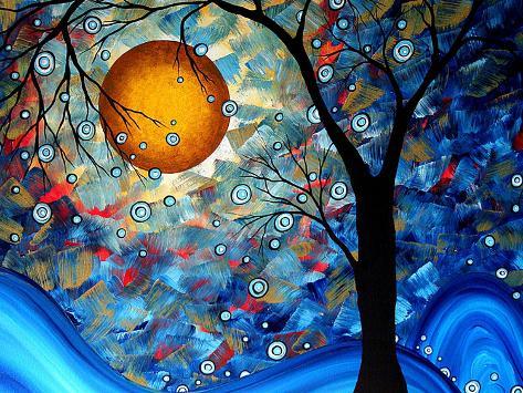 Blue Essence Impressão artística