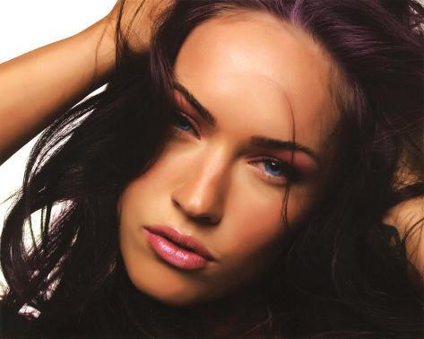Megan Fox (Face) Glossy Movie Photo Photograph Print Framed Photographic Print