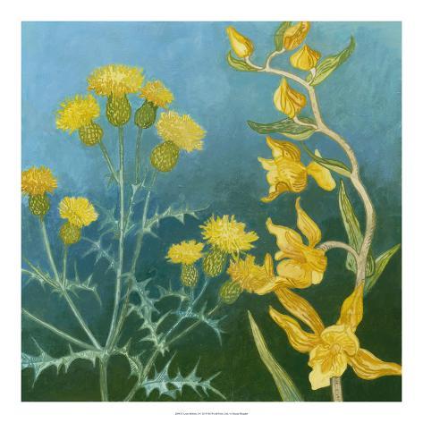 Azure Blooms II Giclee Print
