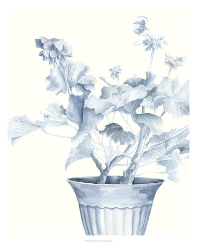 Blue Geranium II Giclee Print