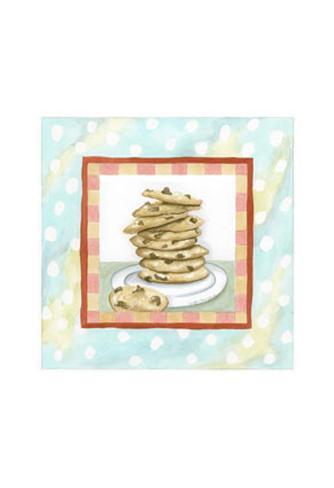 Chocolate Chip Cookies Art Print