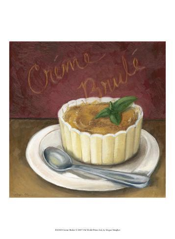 Creme Brulee Art Print
