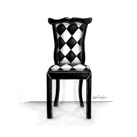 Designer Chair VII Art Print