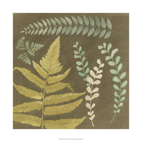Earth & Fern I Giclee Print