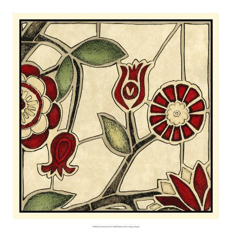 Floral Mosaic II Art Print